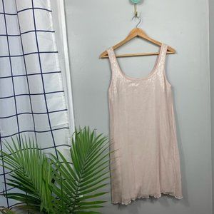 Bailey 44 Pink Sequin Mini Tank Dress